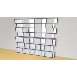 Bookshelf (H212cm - W243 cm)