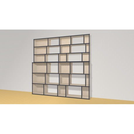 Bookshelf (H191cm - W193 cm)