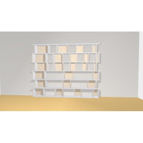 Bibliothèque (H217cm - L274 cm)