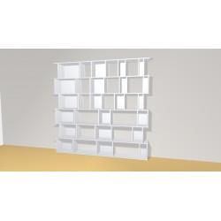 Bibliothèque (H217cm - L220 cm)