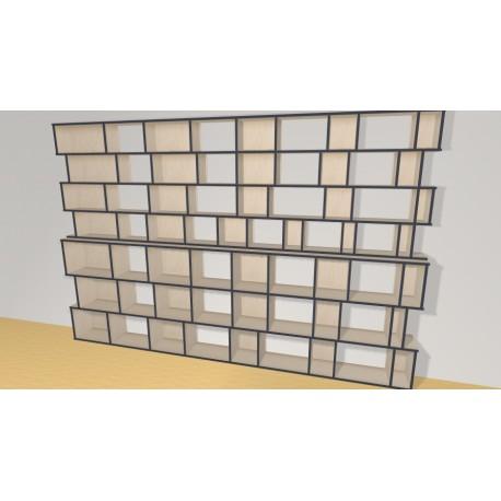 Bookshelf (H218cm - W333 cm)