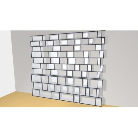 Bibliothèque (H290cm - L328 cm)