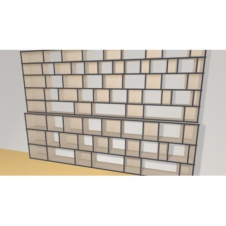 Bookshelf (H239cm - W350 cm)