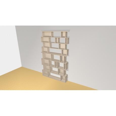Bibliothèque (H254cm - L152 cm)