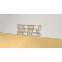 Bookshelf (H82cm - W180 cm)
