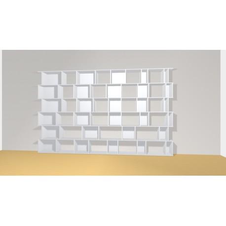 Bibliothèque (H217cm - L350 cm)