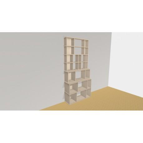 Bibliothèque (H220cm - L110 cm)
