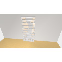 Bibliothèque (H248cm - L120 cm)