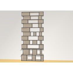 Bookshelf (H307cm - W140 cm)