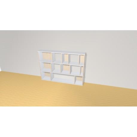 Bibliothèque (H109cm - L157 cm)