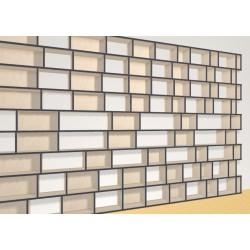 Bookshelf (H222cm - W444 cm)