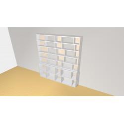 Bibliothèque (H203cm - L190 cm)