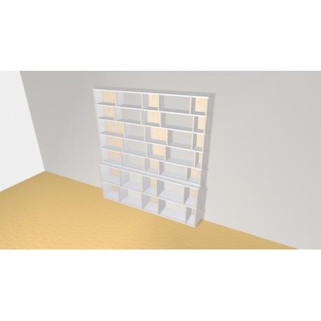 Bookshelf (H203cm - W190 cm)