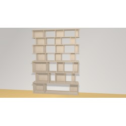 Bibliothèque (H212cm - L154 cm)