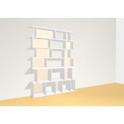 Bibliothèque (H182cm - L130 cm)