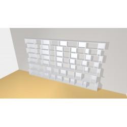 Bibliothèque (H203cm - L375 cm)