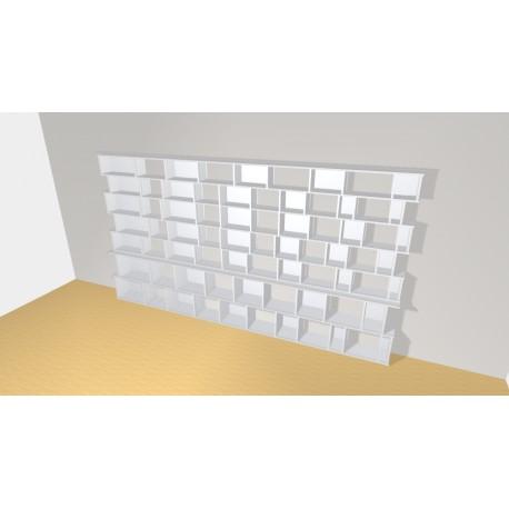 Bookshelf (H203cm - W375 cm)