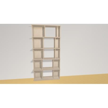 Bookshelf (H181cm - W90 cm)