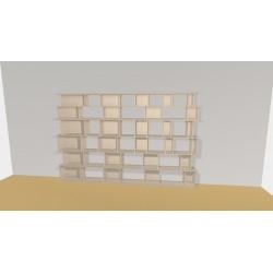 Bookshelf (H200cm - W310 cm)