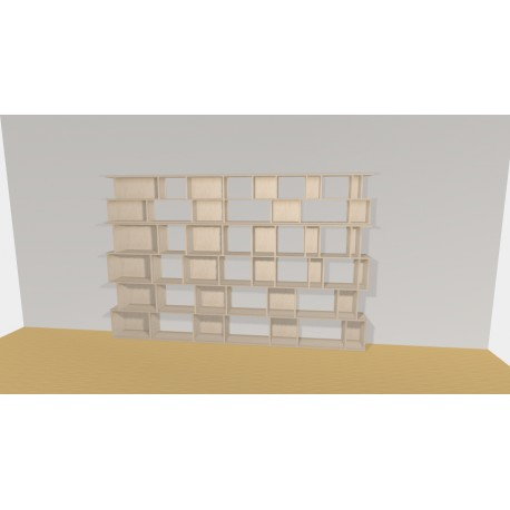 Bibliothèque (H200cm - L310 cm)