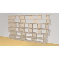 Bibliothèque (H200cm - L317 cm)