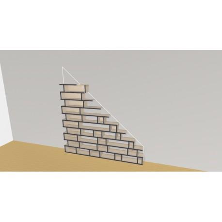 Bookshelf (H160cm - W202 cm)