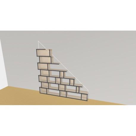Bookshelf (H168cm - W202 cm)