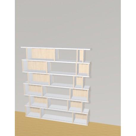 Bibliothèque (H145cm - L130 cm)