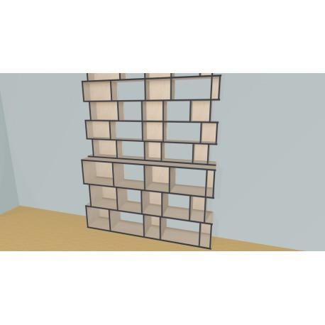 Bookshelf (H245cm - W210 cm)
