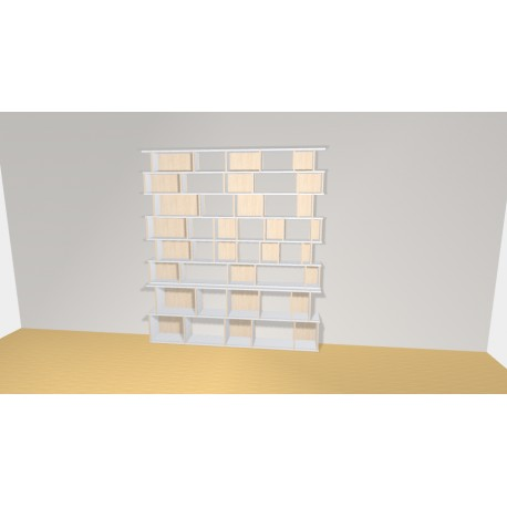 Bookshelf (H230cm - W207 cm)