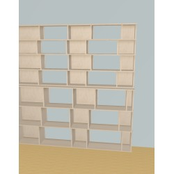 Bookshelf (H212cm - W210 cm)