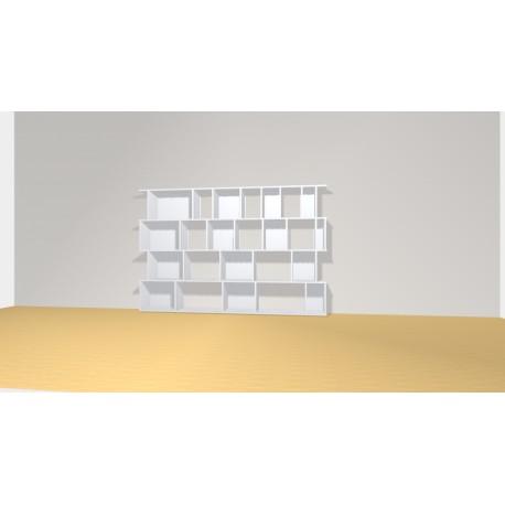 Bookshelf (H145cm - W220 cm)