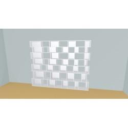 Bookshelf (H203cm - W284 cm)