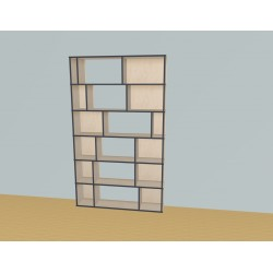 Bookshelf (H217cm - W130 cm)