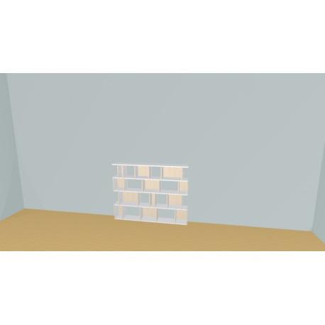 Bibliothèque (H103cm - L147 cm)