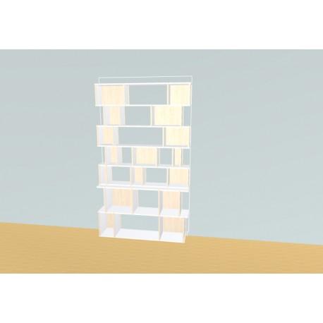 Bibliothèque (H209cm - L125 cm)