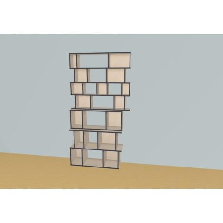 Bookshelf (H217cm - W129 cm)