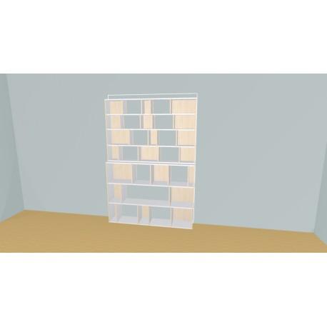 Bibliothèque (H212cm - L167 cm)
