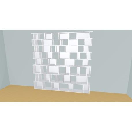 Bookshelf (H239cm - W270 cm)