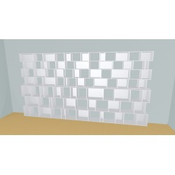 Bookshelf (H212cm - W450 cm)