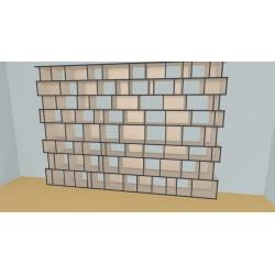 Bookshelf (H243cm - W388 cm)