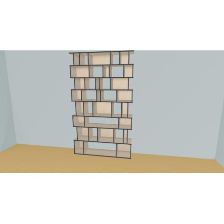 Bookshelf (H243cm - W160 cm)