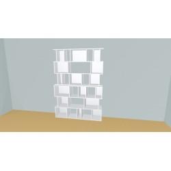 Bibliothèque (H218cm - L170 cm)
