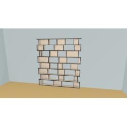 Bookshelf (H210cm - W210 cm)