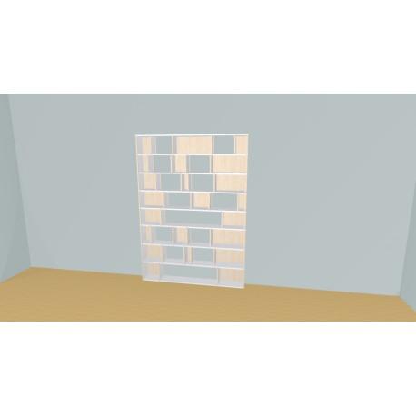 Bookshelf (H201cm - W161 cm)