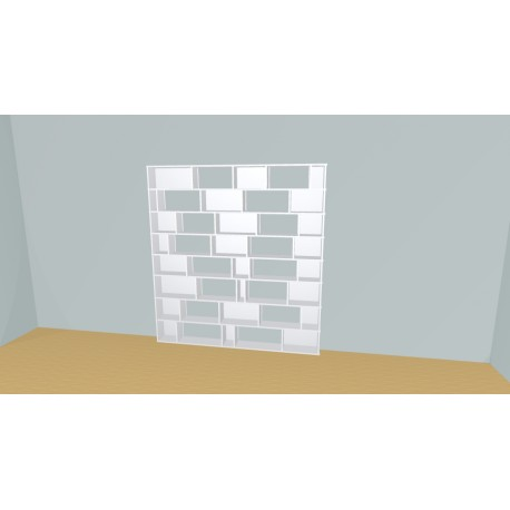 Bookshelf (H201cm - W210 cm)