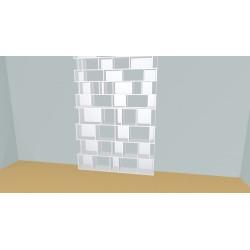 Bibliothèque (H272cm - L195 cm)