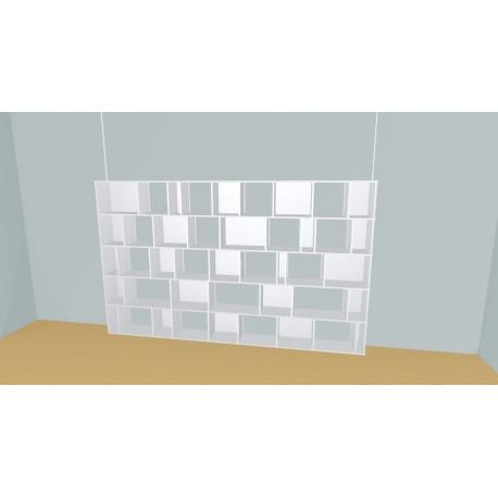 Bookshelf (H181cm - W332 cm)