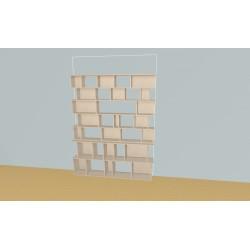 Bibliothèque (H203cm - L164 cm)