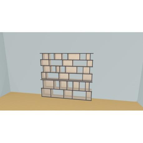 Bookshelf (H176cm - W225 cm)